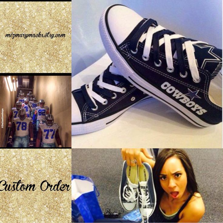 Now offering appliqué Dallas Cowboys Chucks, It's Tax Free Weekend here in Texas, so get your custom chucks with no taxes from August 7th 12:01am through August 9th 11:59pm #customshoes #customchucks #customconverse #taxfreeweekend #taxfree #backtoschool #backtoschoolshopping #mizmarymacks #chucks #tiptoeing #whatarethose #sneakers #chucks #texas #isowant #awesome #dallas ##dallascowboys #sneakerhead #sneaker #dcrb @dcrhythmblue @dccheerleaders