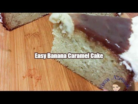 HOW TO MAKE AN EASY BANANA CARAMEL CAKE – QUICK & SIMPLE RECIPE  This simple easy and quick recipe for banana caramel cake is perfect for a weekday brunch or afternoon tea party. The cake is fairly simple to make and you can use store bought caramel as topping which makes the whole process stress free.  Battery Operated Flour Sifter can be found here - http://amzn.to/2i0Pfe2  Recipe - http://veenaazmanov.com/easy-banana-c...