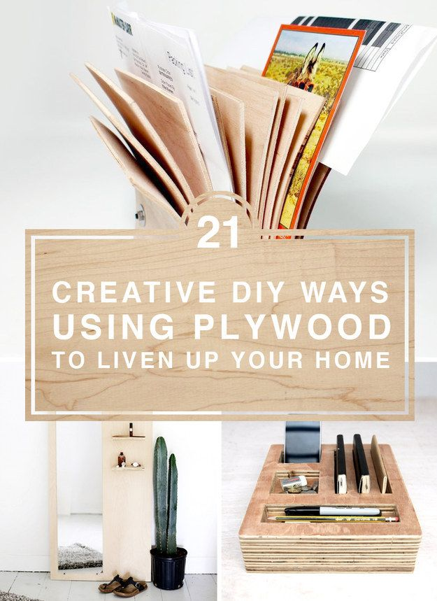 301 best diy project ideas images on pinterest bricolage craft 21 creative diy ways using plywood to liven up your home solutioingenieria Gallery