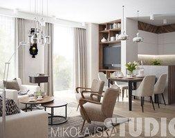 apartament w stylu nowojorskim - zdjęcie od MIKOŁAJSKAstudio