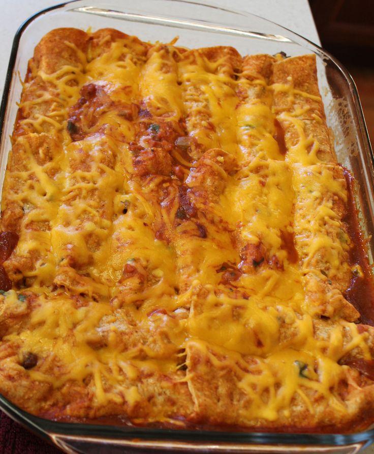 Pinterest Recipes   Ground Beef Enchiladas   ipinnedit