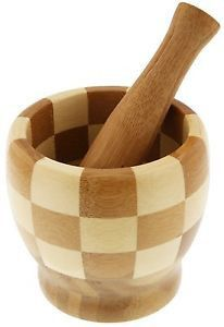 Bamboo Pestle and Mortar – Restful Spaces