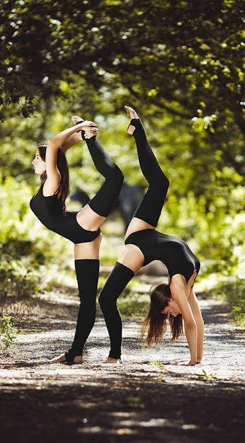 Dancers - on a woodland's trail