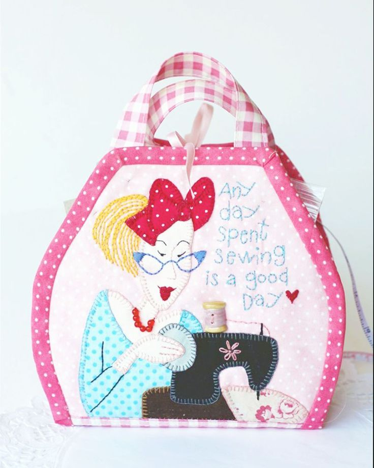 Blueberry Girls Itty Bitty Bag by Bronwyn Hayes of Red Brolly