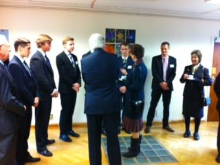 meeting HRH Princess Anne through the Peanut ward at the Queen Victoria hospital. What a great honour
