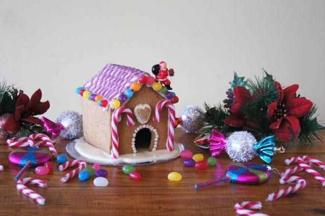 Christmas Gingerbread House (Vegan and Gluten Free)