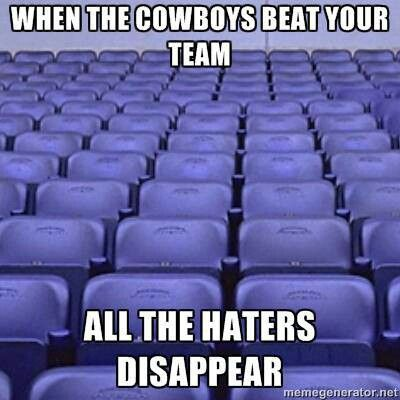 Haters Disappear