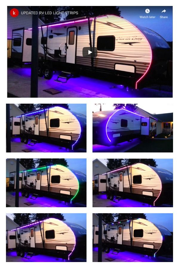 Rv Led Lighting Exterior And Underbody Kits Rv Led Lights Led Party Lights Camper Lights