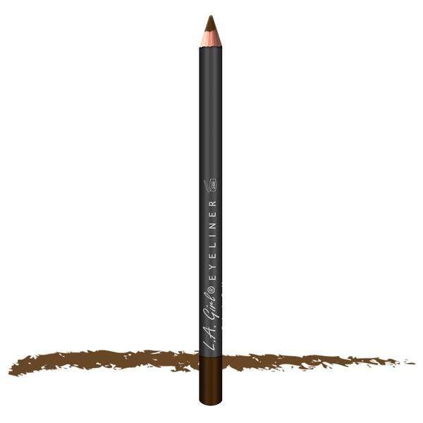 LA Girl Cosmetics LA Girl Eyeliner Pencil Medium Brown  Je ogen definiëren is nog nooit eenvoudiger en spannender geweest als met de oogpotloden van LA Girl.  EUR 1.49  Meer informatie
