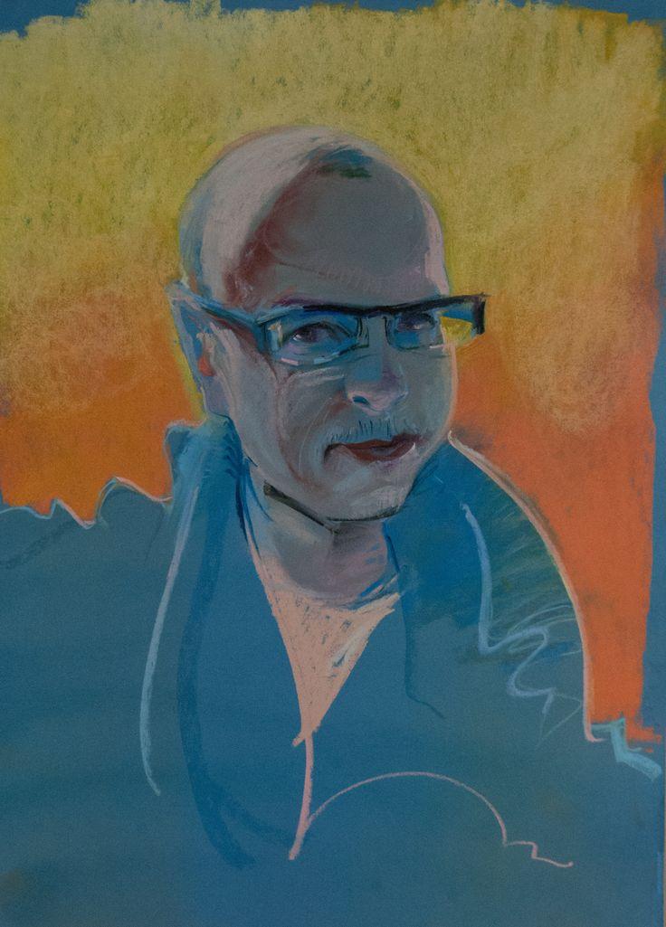 Pan Jarek #pastels #artforfun #tybur