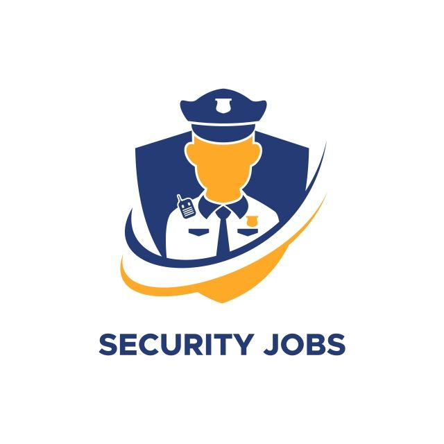 Security Guard Jobs Logo Vector Security Guard Jobs Security Guard Vector Logo