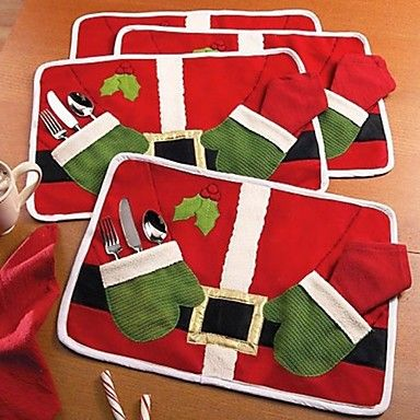 Cute and useful Santa Eat Mat