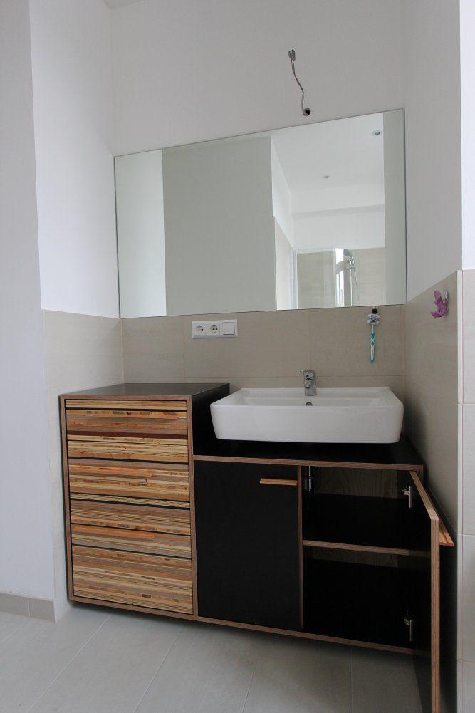 Waschtisch im Bad - dein Tischler in Leipzig dein Tischler in