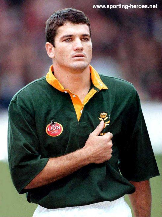 Joost Van der Westhuizen (South Africa)