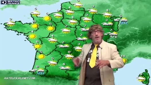 Quel temps fera t'il ce week end ? Erick BERNARD météorologistologue vous l'annonce en direct de matelesurlenet.com