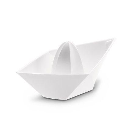 Koziol - Ahoi Zitruspresse, weiß Weiß T:20 H:8 B:10