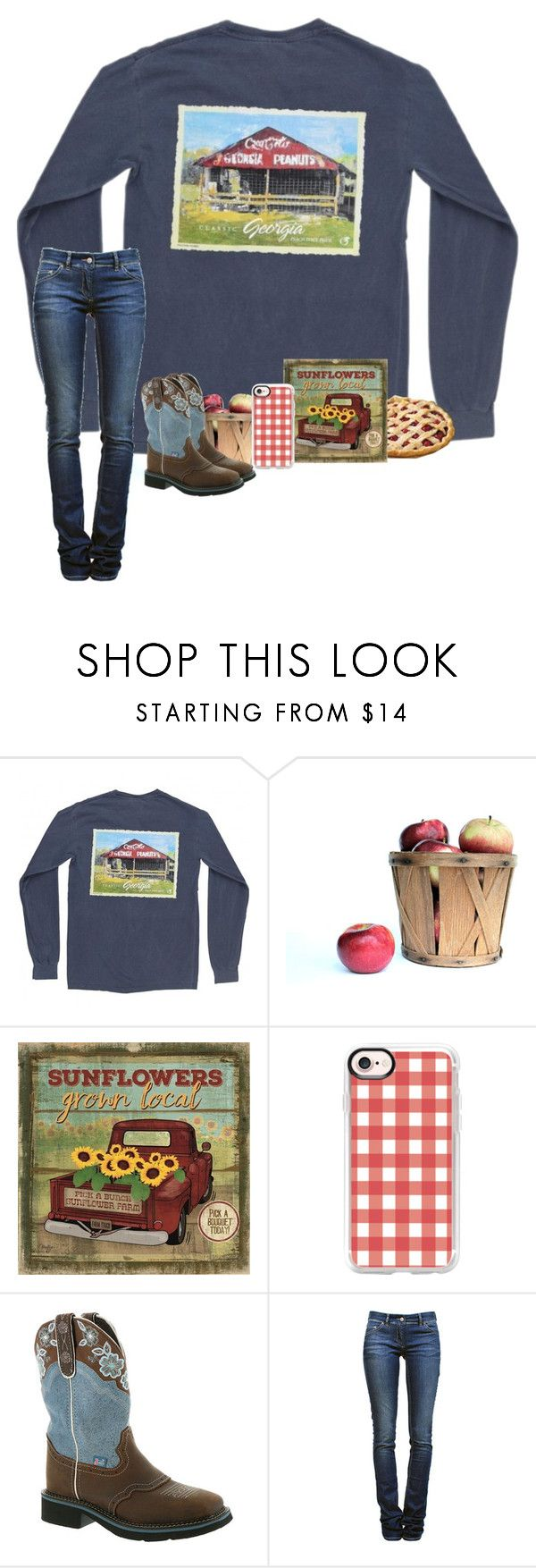 """2 Days Of School This Week!"" by brookespreppy ❤ liked on Polyvore featuring DutchCrafters, Casetify, Justin Boots, Étoile Isabel Marant, casual, Boots, preppy, southern and polyvorefashion"