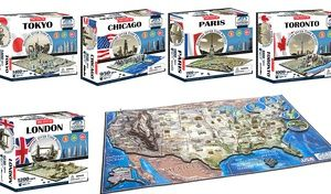Groupon - 4D Cityscape Puzzle in [missing {{location}} value]. Groupon deal price: $24.99