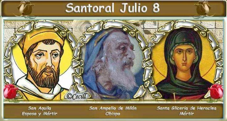 Vidas Santas: Santoral Julio 8
