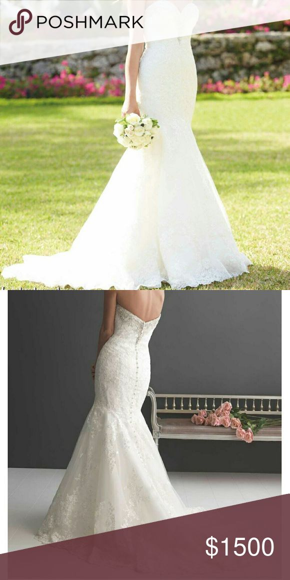 Wedding gown Allure Romance wedding gown. Never worn, Never altered. It has been sitting in my closet in a protective case for a year and a half. Nothing is wrong with the dress i just found a new one. Dresses Wedding