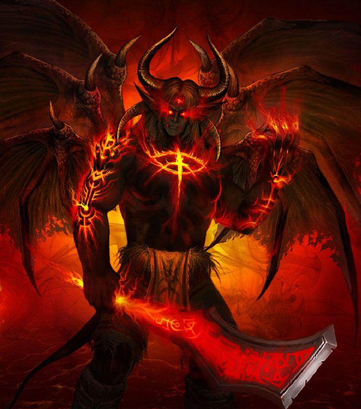 Демоны люцифер картинки
