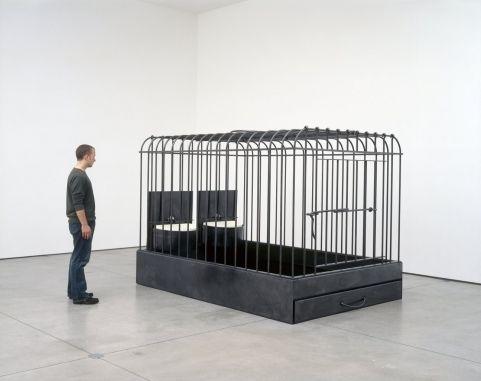 Cage--deux - Mona Hatoum - 2002 - 7667