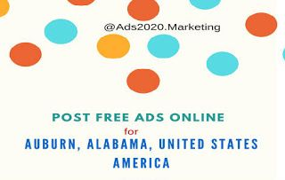 Free Advertising Options on the Internet for #Auburn #Alabama USA http://www.ads2020.marketing/2014/06/top-20-best-classified-websites-post-free-ads-in-local-Auburn-Alabama-united-states-america-usa.html  #businessads