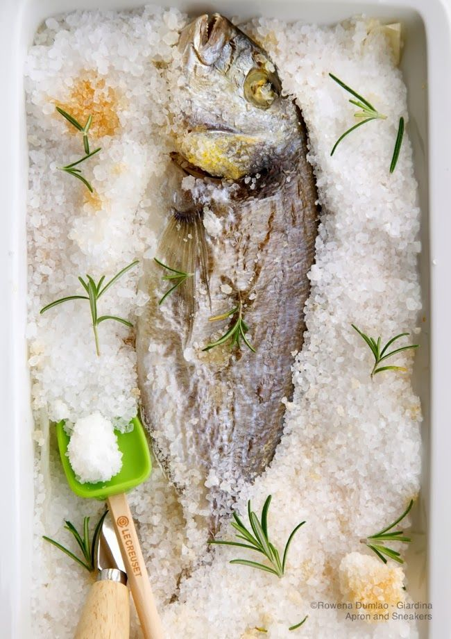 Apron and Sneakers - Cooking & Traveling in Italy and Beyond: Salt-Crusted Baked Whole Fish