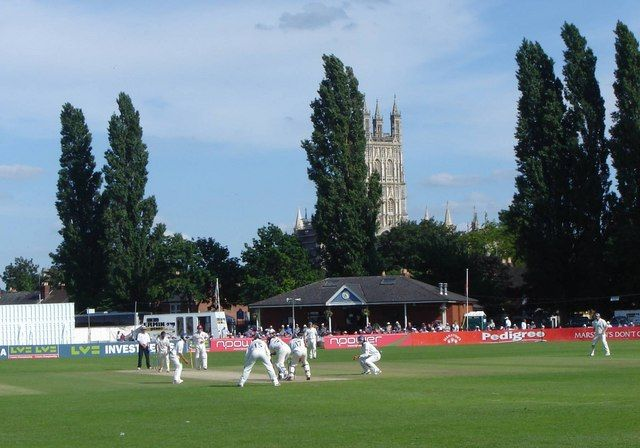 Gloucester Cricket Ground Floodlights : Cricket at archdeacon meadow this ground is where the