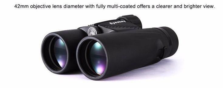 10X42  Waterproof  Binoculars Bak4 Prism Optics Technology Features by podoqo