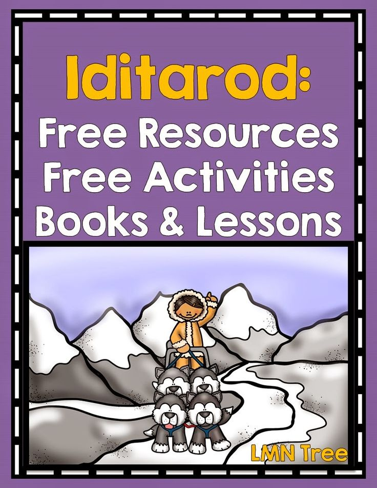 LMN Tree: All About the Iditarod: Free Resources and Free Activities