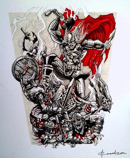 Cool forearm tattoo