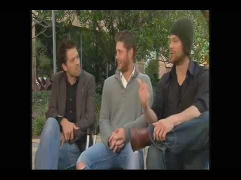 "Jensen Jared & MIsha - Channel 10 News  Referring to Eric as ""Krip"" cracks me up!"