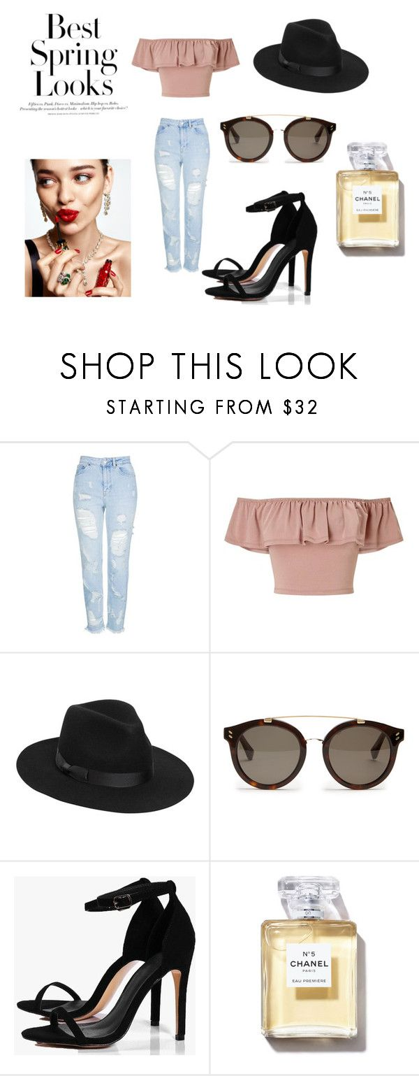 Looking great. by carlacorucho on Polyvore featuring Miss Selfridge, Topshop, Boohoo, Lack of Color, STELLA McCARTNEY, H&M and KAROLINA