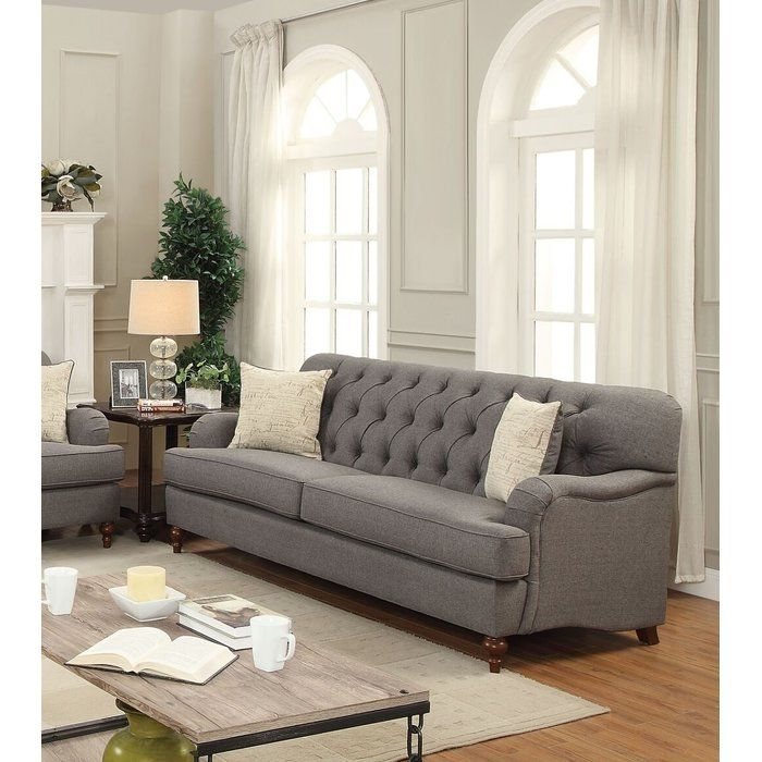 Diep 85 Rolled Arm Sofa Traditional Sofa Sofa And Loveseat Set Furniture