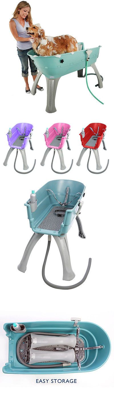 Other Dog Grooming 177794: Elevated Pet Tub Bath Grooming Station Wash Dog Indoor Outdoor Clean Shampoo New BUY IT NOW ONLY: $179.99
