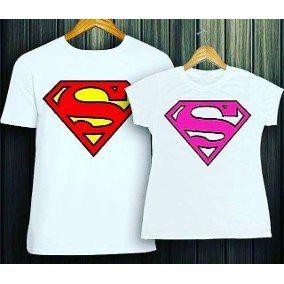 1f5ece75f9 Resultado de imagen para camisetas personalizadas para parejas superman