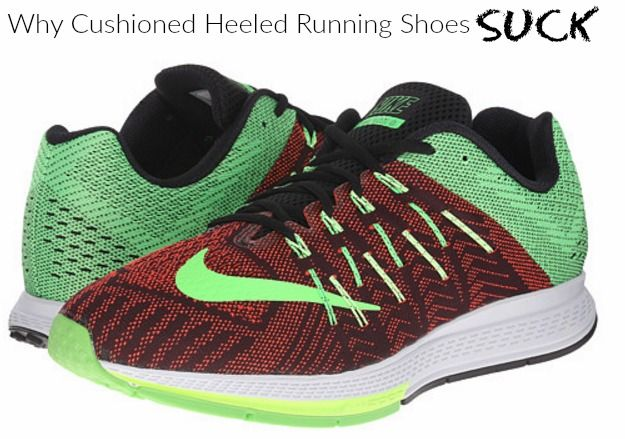 Another Major Problem with Cushioned Heeled Running Shoes
