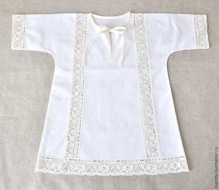 Шьем крестильную рубашку с кружевными вставками - Ярмарка Мастеров - ручная работа, handmade