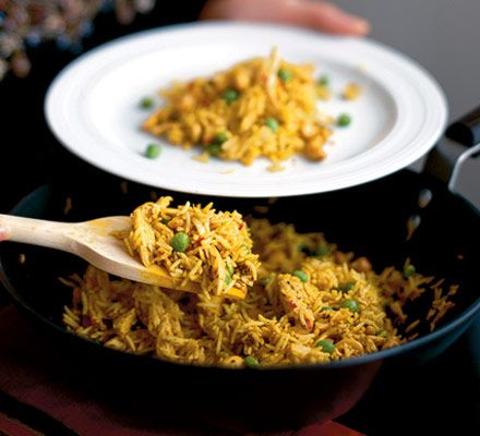 Whip up a curry in next to no time - perfect for those evenings when you're too tired to be in the kitchen for long