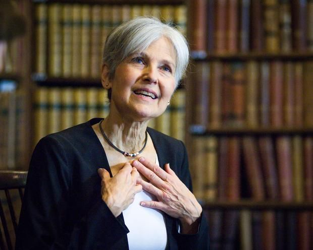 Stein is questioning results in Pennsylvania and Wisconsin -- where Trump won by razor-thin margins -- and in Michigan, which is still too close to call