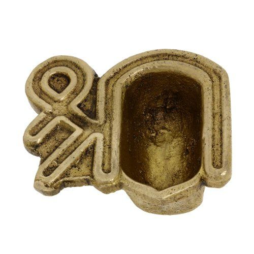 Brass, Handmade Oil Lamp, Indian Religious Sign Shri, Unique Diya,2 inch ShalinIndia http://www.amazon.in/dp/B00FJ22GP6/ref=cm_sw_r_pi_dp_Mixaub0MTGD5X