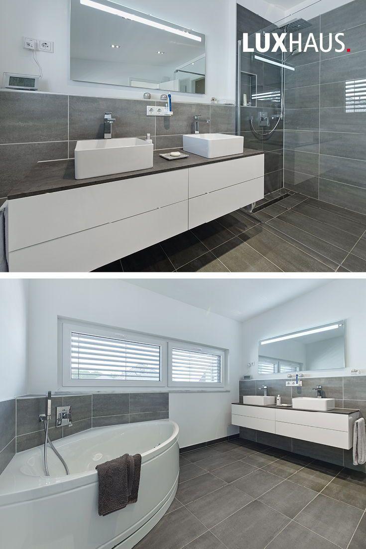 Badezimmeridee In Grau Badezimmer Renovieren Badezimmerideen Badezimmereinrichtung