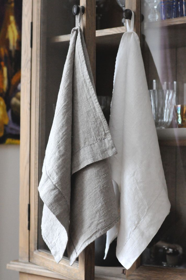 #LinenWay #Towels #Linen #Stone-Washed Linen #Stone-Washed Linen Towels #Stone-Washed Hemstitched Towels