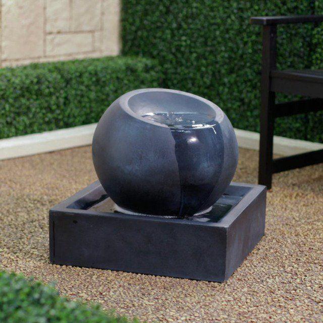 17 meilleures id es propos de fontaine en pierre sur. Black Bedroom Furniture Sets. Home Design Ideas