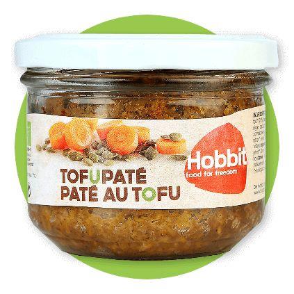 PATE Z TOFU | 180 g cena 13,49 zł na www.pureveg.pl  Wyśmienite wegańskie Paté na bazie tofu. Szczególny typ pasztetu dla wegan pieczonego, każdy osobno w słoiczku na bazie pożywnego tofu. Ma świetny, łagodny smak pieczeni i zrównoważonych przypraw, wyraźnie wyczuwalną urozmaiconą strukturę. Bardzo różni się jakością od papkowatych smarowideł znanych ze sklepowych półek. Jest delikatesowym daniem, w którym pamiętano o najlepszych składniach BiO i wysokich walorach odżywczych.