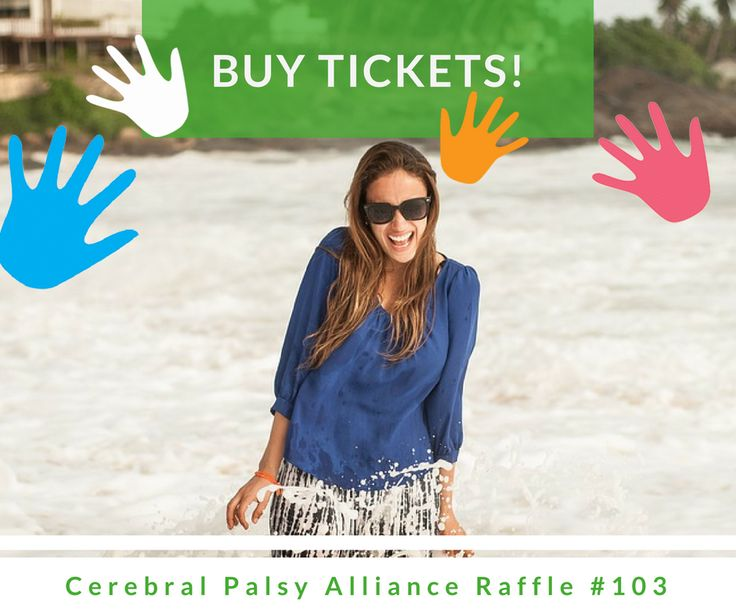 16 days left for Cerebral Palsy Alliance Raffle #103!! Hurry up and BUY TICKETS NOW! https://aspirecharitygaming.com/cerebral-palsy-alliance-ra…/ #tickets #charity #WINNER