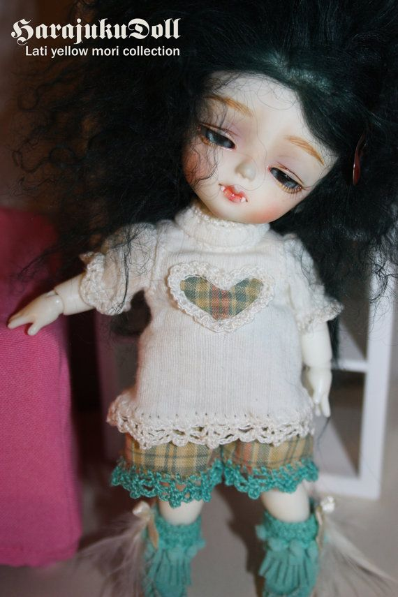 Lati yellow size mori outfit tee and bloomers by by killingsissy