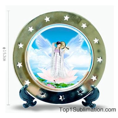 By polishing treatment with the plate surface it has better appearance with custom photos printed .  sc 1 st  Pinterest & 9 best Sublimation Plates images on Pinterest | Custom photo ...