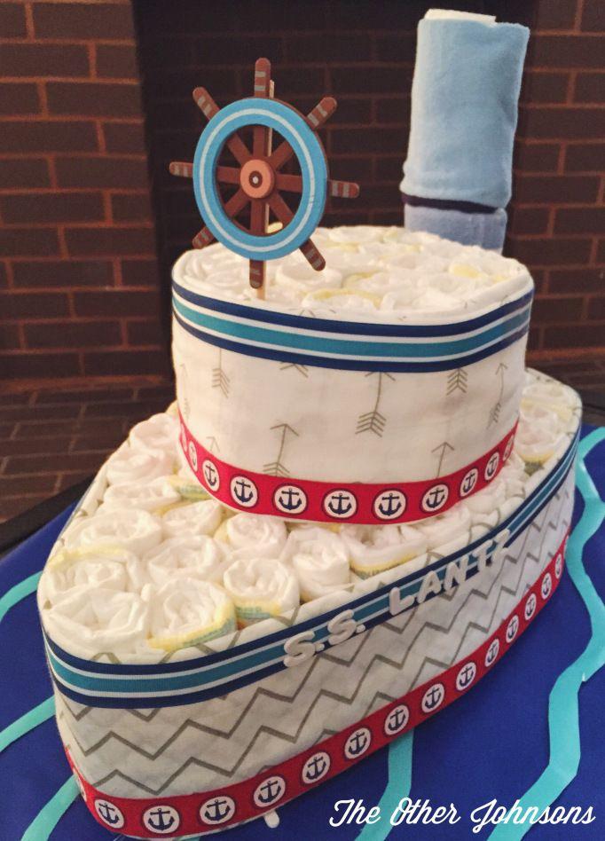 Resultado de imagen para pastel con pañales